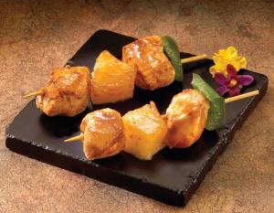 Chicken Hawaiian Kabobs