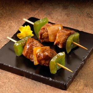 Beef and Vegetable Teriyaki Kabob