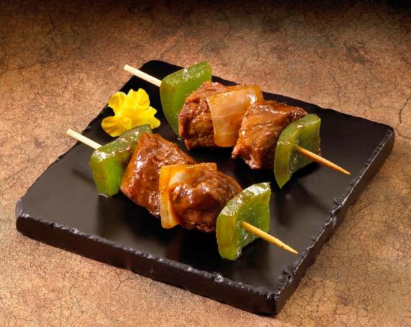 Beef and Vegetable Teriyaki Kabob