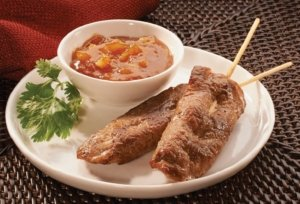 Beef Satay, Plain Unsauced