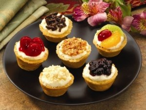 Mini Assorted Cheesecakes