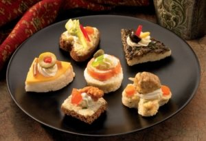 Assorted Cold Canapes
